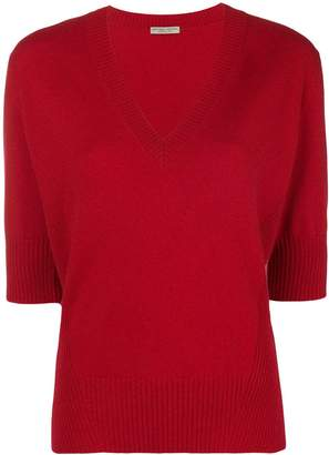 Bottega Veneta deep V-neck sweater