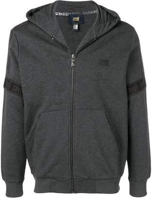 Class Roberto Cavalli hooded zipped jacket