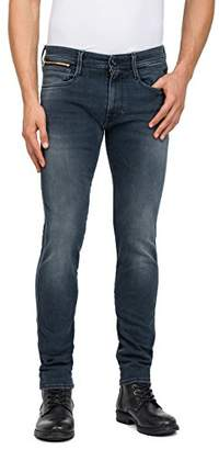Replay Men's Anbass Coin Zip Slim Jeans,W33/L32