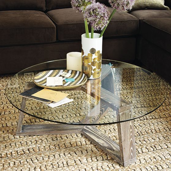 Ion Glass Round Coffee Table