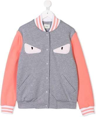 Fendi Monster Eye bomber jacket
