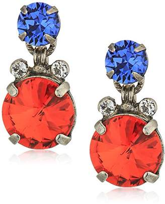 Sorrelli Crush Round and Round Drop Earrings