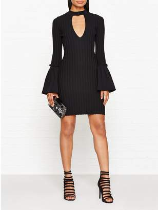 C/Meo Collective Mind Reader Knitted Dress - Black