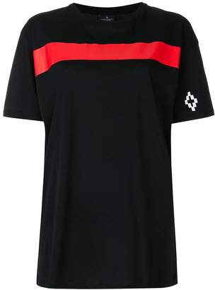 Marcelo Burlon County of Milan colour-block stripe panel T-shirt