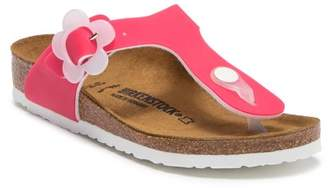 Birkenstock Gizeh Floral Buckle Slip-On Sandal - Discontinued (Little Kid)