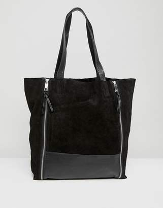Urban Code Urbancode Shopper with Double Zip Detail