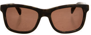 King Baby Studio T-Bone Marbled Sunglasses $95 thestylecure.com