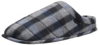 Dearfoams Men's Quilted Clog Slipper