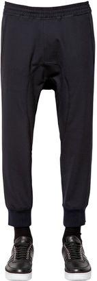 Tech Wool Gabardine Jogging Pants $375 thestylecure.com