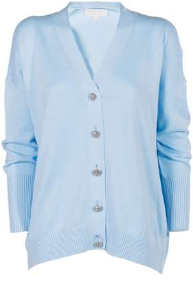 MICHAEL Michael Kors Embellished Button Cardigan