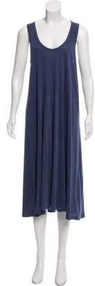 The Great Distressed Midi Dress