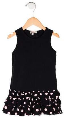 Junior Gaultier Girls' Sleeveless Dress
