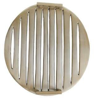 Alcott Hill Isakson Aluminum Perforated Accent Tray