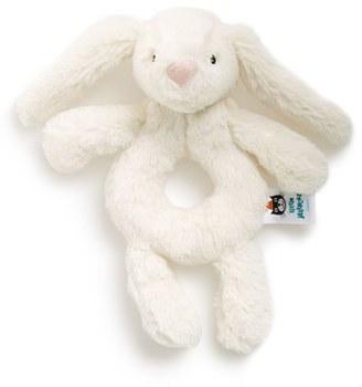 Infant Jellycat 'Bashful Bunny' Grabber Rattle $12.50 thestylecure.com