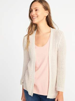 Old Navy Textured Open-Front Bell-Sleeve Sweater for Women