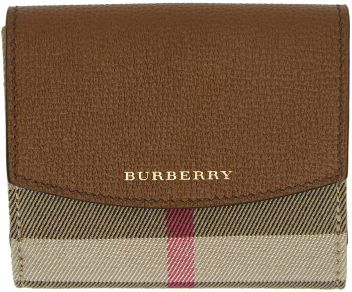 Burberry Tan Luna Wallet