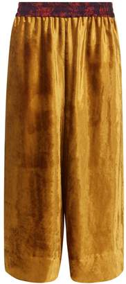 Klements - Pluto Culottes in Gold Velvet