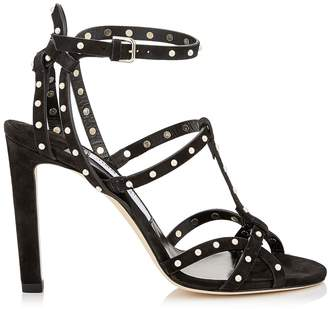 Jimmy Choo Beverly 100 Leather Sandals