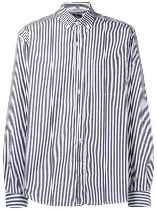 Fay striped button down shirt