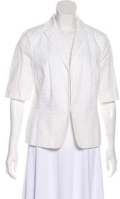 Akris Punto Lightweight Textured Blazer