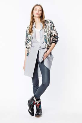 Zadig & Voltaire Billie Print Paisley Jacket