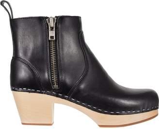 Swedish Hasbeens Zip It Emy Boot - Women's