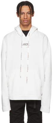 A-Cold-Wall* SSENSE Exclusive White Logo Hoodie