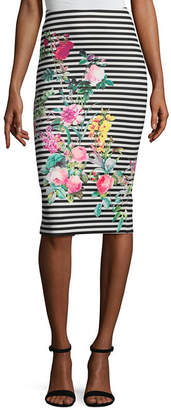 WESLEE ROSE Weslee Rose Pencil Skirt