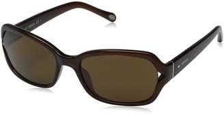 Fossil Women's FOS3026S Rectangular Sunglasses