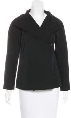 Versace Shawl-Collar Wool Jacket