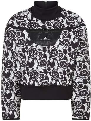 adidas by Stella McCartney Jacquard Run Sweater