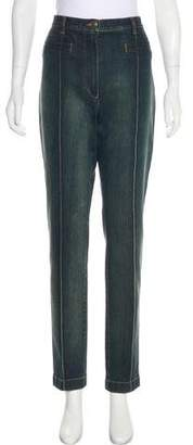 Chanel Paris-Dallas High-Rise Jeans