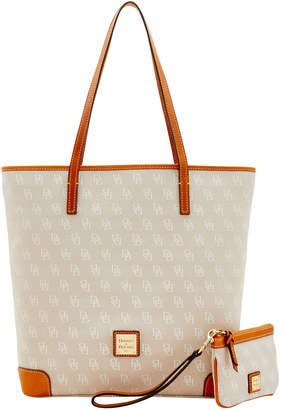 Dooney & Bourke Signature Everyday Tote & Medium Wristlet
