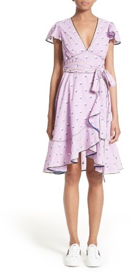 Marc Jacobs Women's Marc Jacobs Ruffle Reverse Fil Coupe Dress