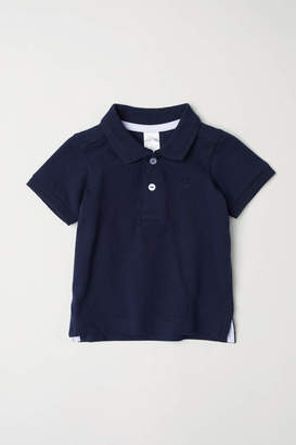 H&M Polo Shirt - Dark blue - Kids
