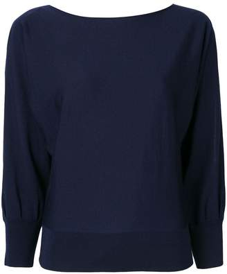 Ralph Lauren cut-out sleeves knitted sweater