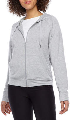 Xersion Womens Long Sleeve French Terry Hoodie - Tall
