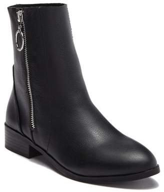 Steve Madden Alden Leather Zip Ankle Boot