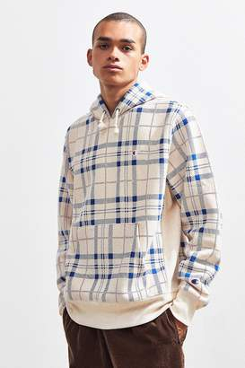 Champion Plaid Hoodie Sweatshirt