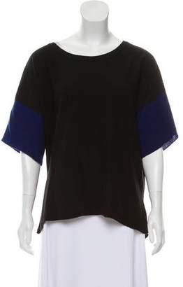 Vince Cashmere Short Sleeve Sweater