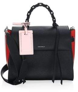 Elena Ghisellini Game Angel Top Handle Bag