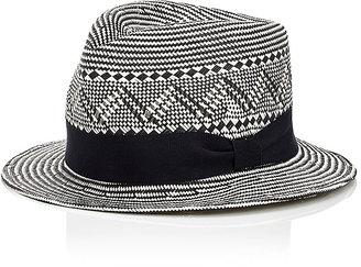 """Jennifer Ouellette Women's """"Junior's Trilby"""" Hat-BLACK, WHITE, NO COLOR $325 thestylecure.com"""