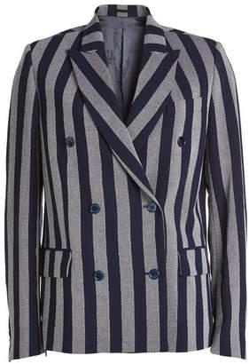 Golden Goose Misam Fleece Wool Blazer