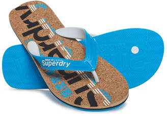 Superdry Cork Colour Pop Flip Flops