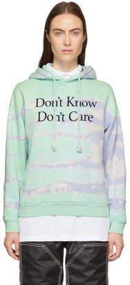 Ashley Williams Green Tie-Dye Dont Know Hoodie