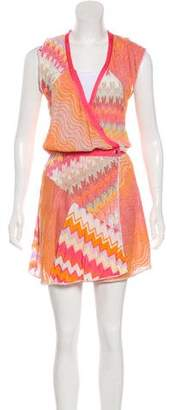Missoni Mare Abstract Print Knee-Length Dress