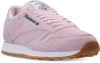 Reebok Men's Classic Leather Pastels Casual Sneakers from Finish Line