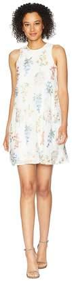Calvin Klein Embroidered Trapeze Dress CD8H87NJ Women's Dress