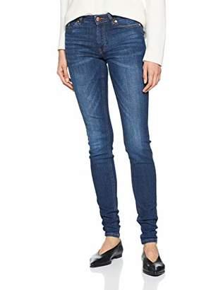 Q/S designed by Women's 45.899.71.2841 Skinny Jeans, (Blue 56z6), (Size: 32/L34)