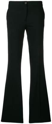 Yang Li mid-rise flared trousers
